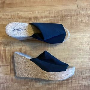 Lucky Brand Marilynn wedges sandals shoes 40 / 10